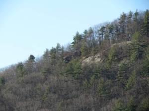 1. Mt. Caesar Ledges from Below