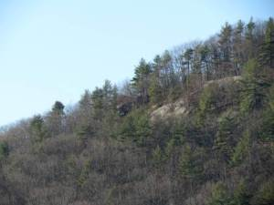 1. Mt. Caesar Ledges from Below