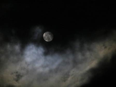 4. Moon and Clouds