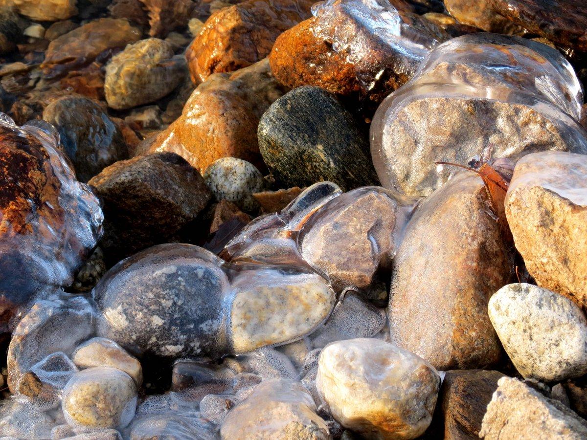 4. Ice Covered Stones