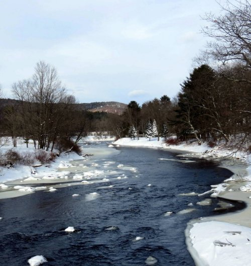 8. Ashuelot River on 2-9-13