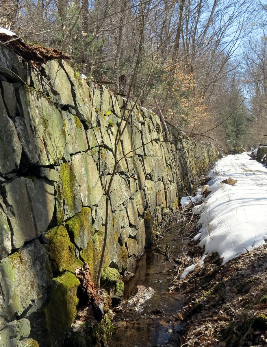 8. Stone Wall and Drainage Ditch