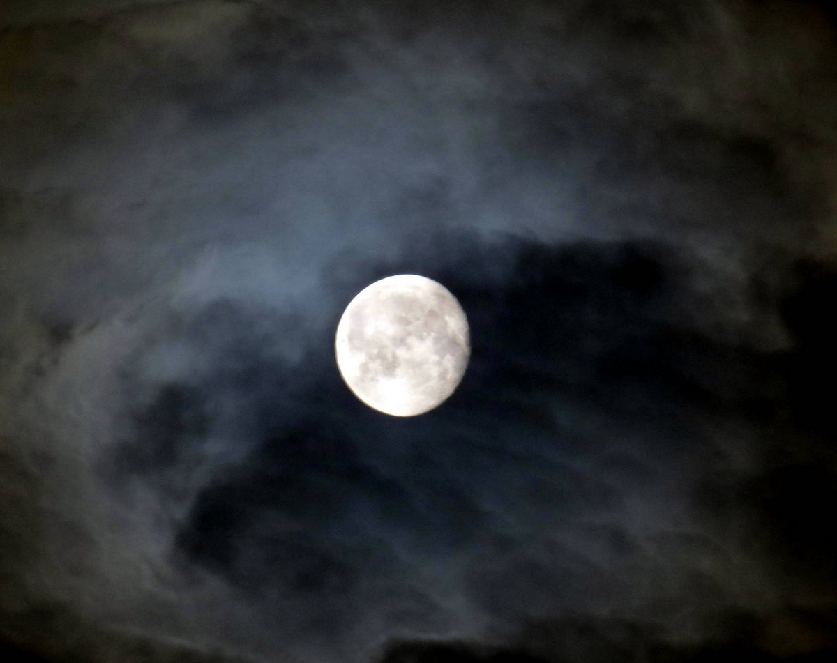 12. Moon and Clouds