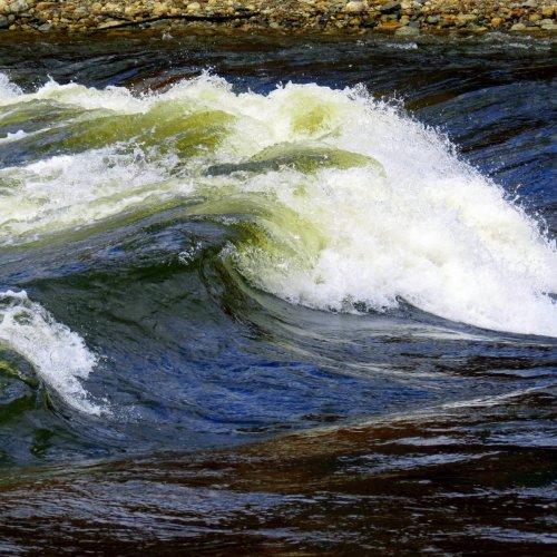 Ashuelot River Waves