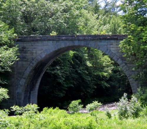 10. B&M Stone Arch Bridge