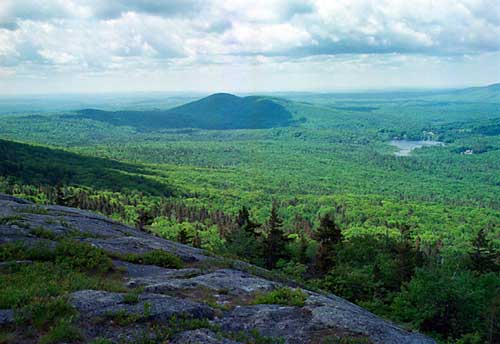 16. Gap Mountain from Monadnock