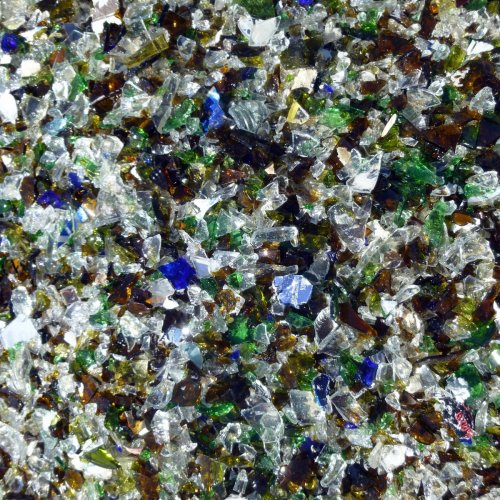 9. Crushed Glass