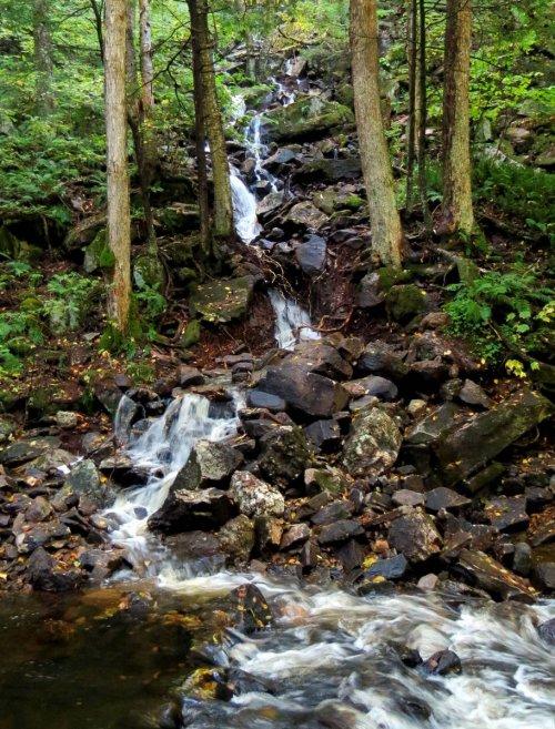 14. Hillside Waterfall