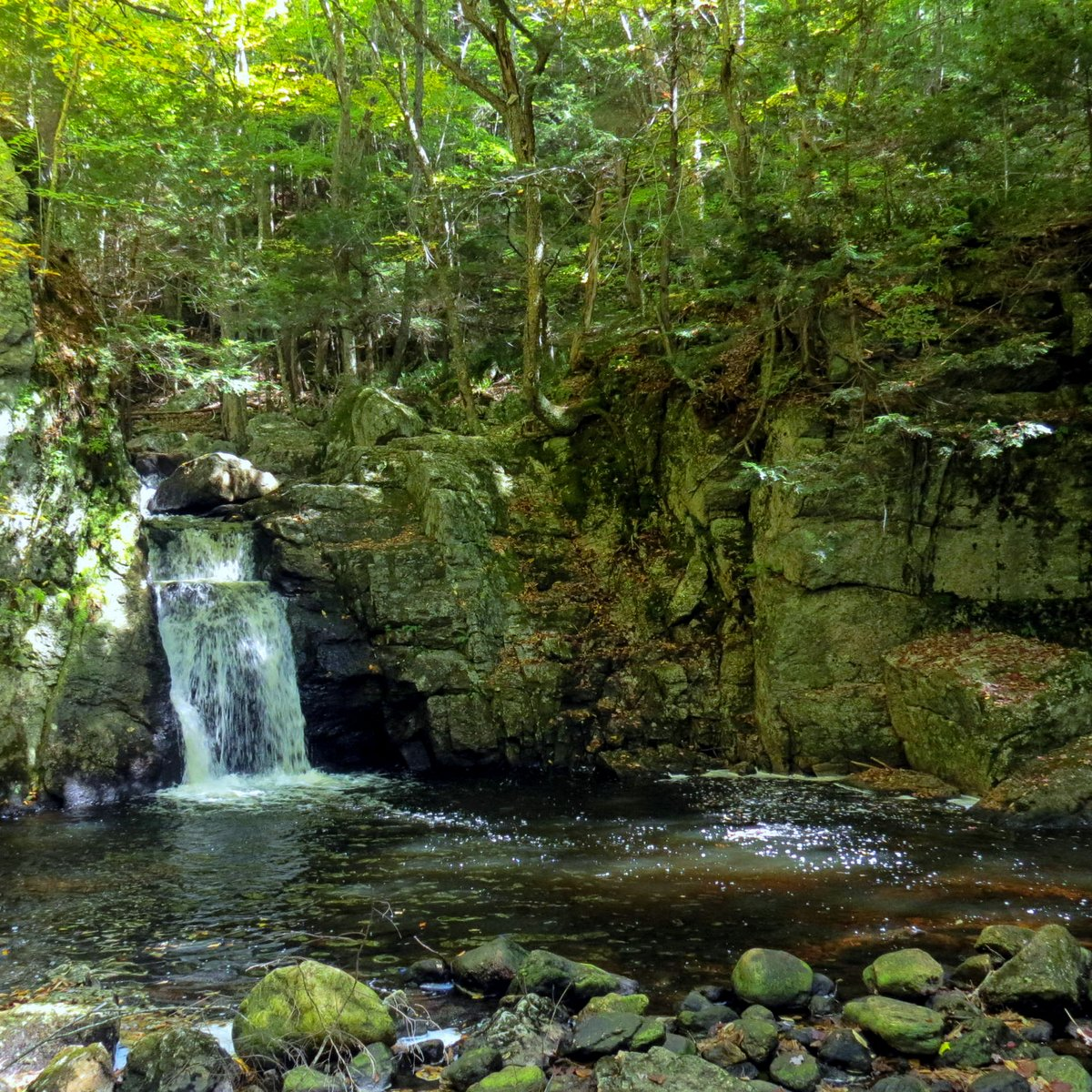 7. Beaver Brook Falls