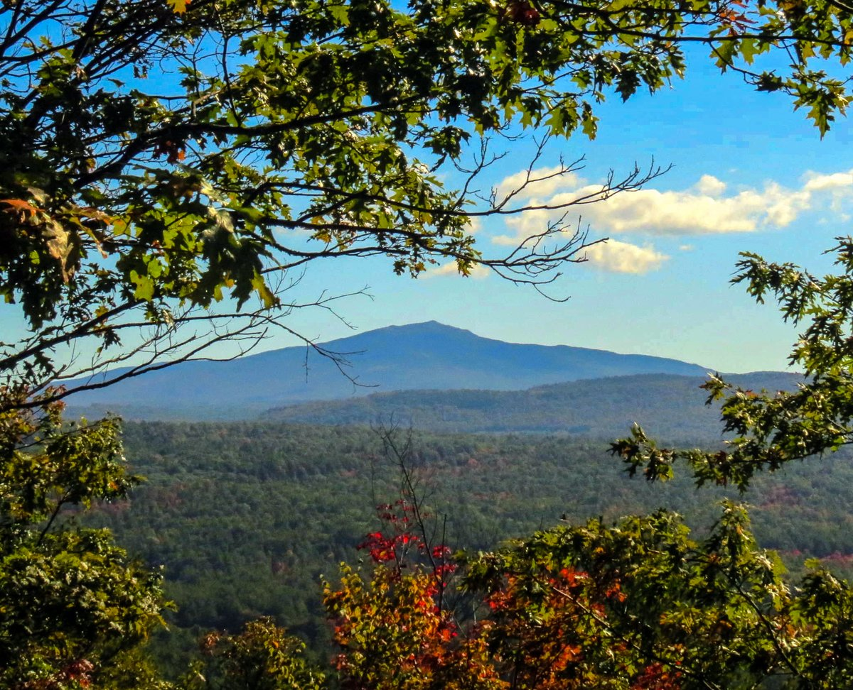 8. Monadnock from Mount Caesar in Swanzey