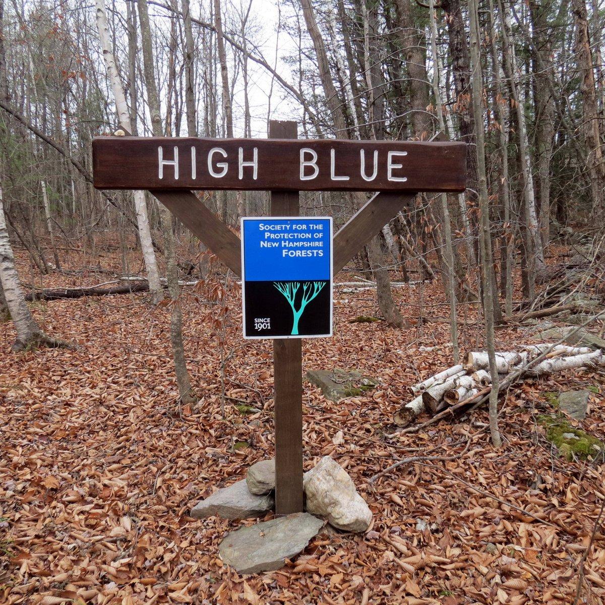 2. High Blue Sign
