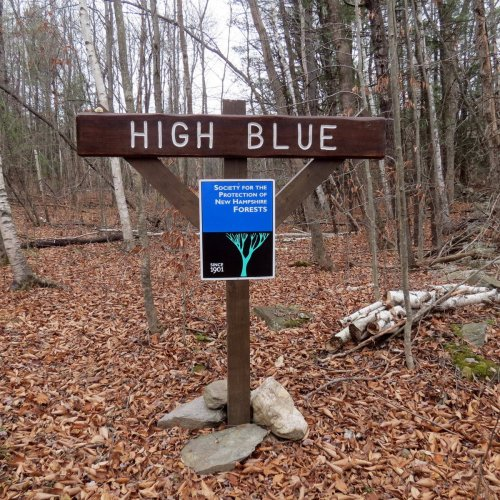 2. High Blue Sign