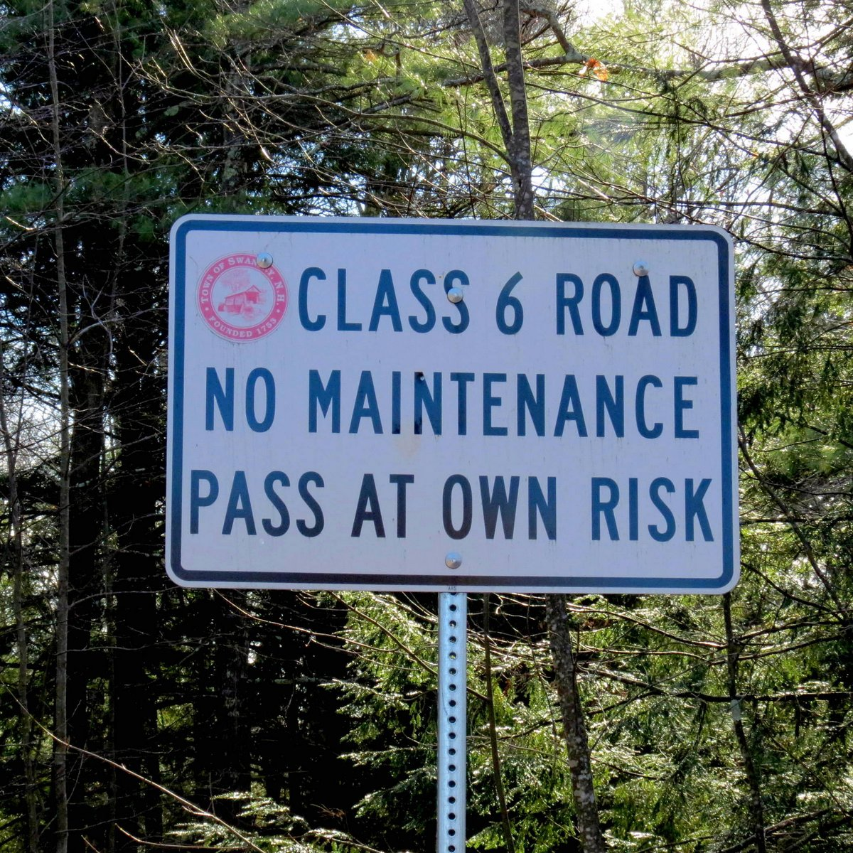 1. Class 6 Road Sign