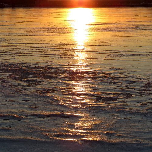 12. Sunset on Ice