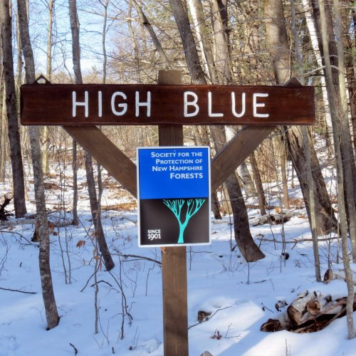 1. High Blue Sign
