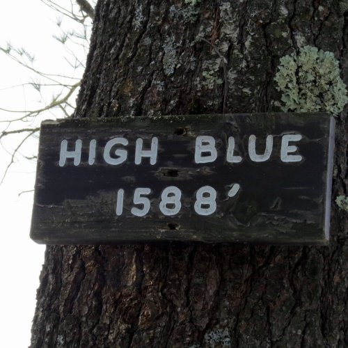 12. High Blue Sign