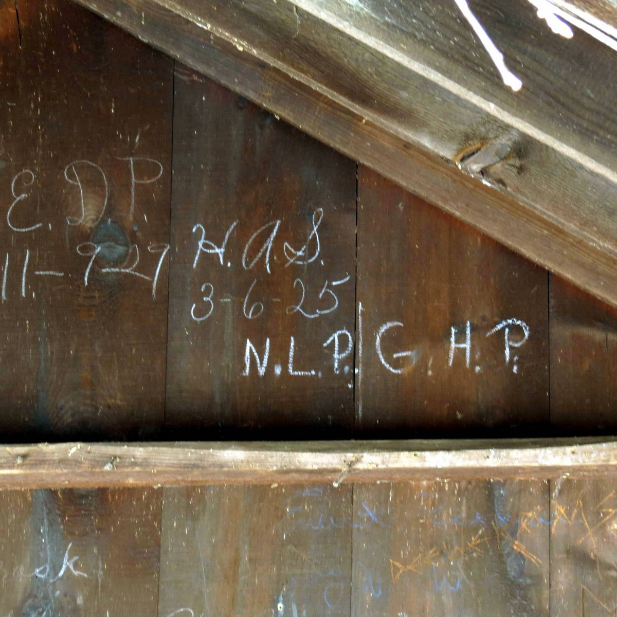 14. Railroad Shack Graffiti