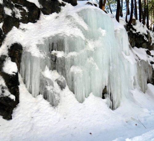 15. Large Ice Farmation