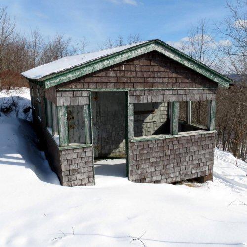 7. Pitcher Mountain Ranger Cabin