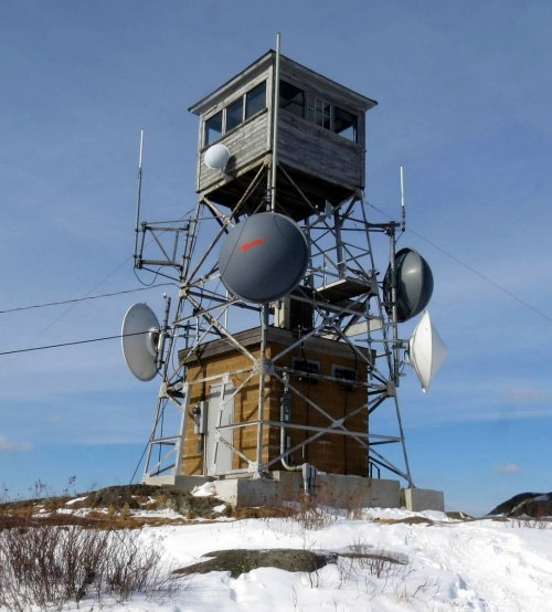 8. Pitcher Mountain Fire Tower