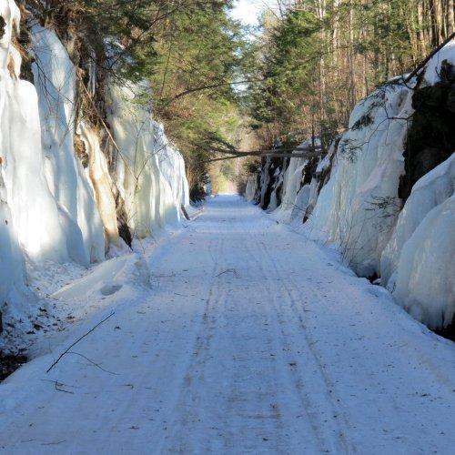3. Icy Walls