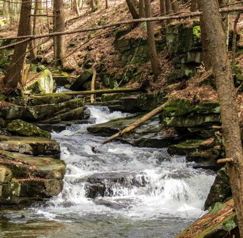 1. Brickyard Brook Falls