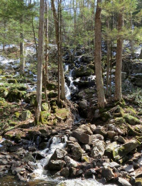 10. Disappearing Hillside Waterfall