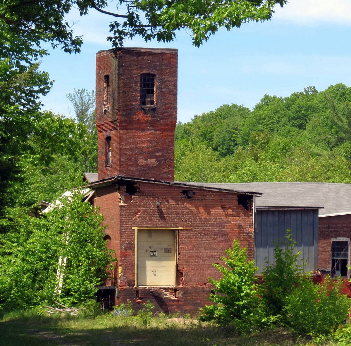 10. Abandoned Paper Mill