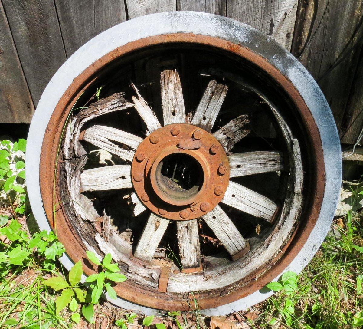 7. Old Wheel