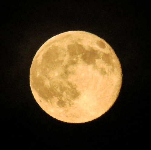 9. Super Moon on 7-12-2