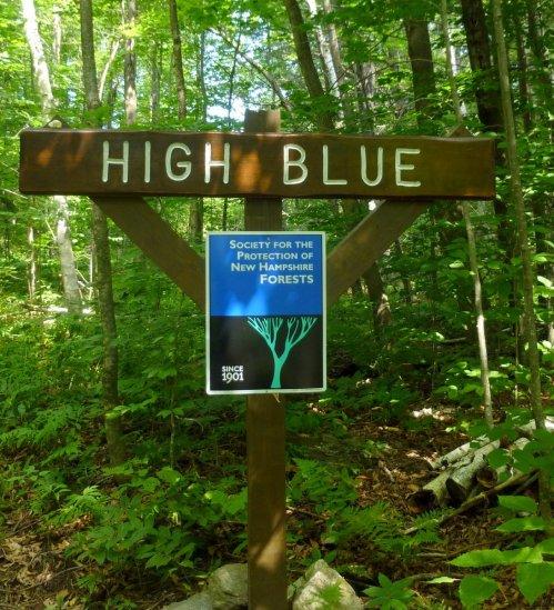 1. High Blue Sign