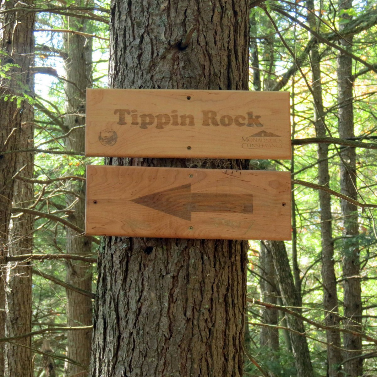 10. Tippin Rock Sign
