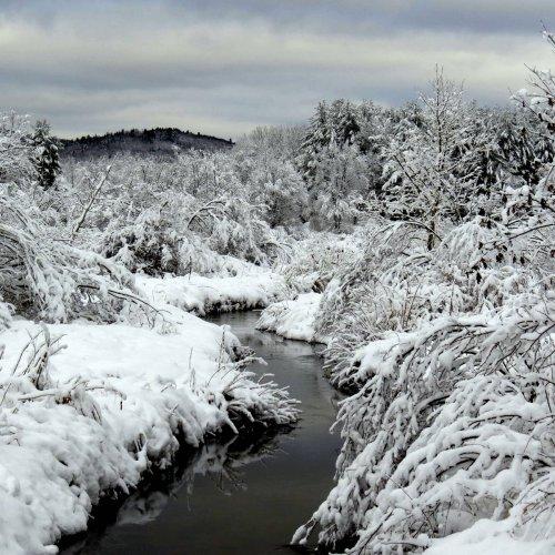 10. Snowy Stream