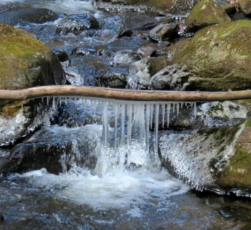 5. Icicles in Stream