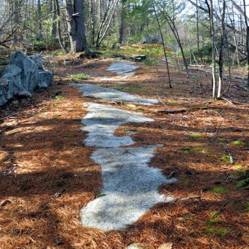 1. Path on Bedrock