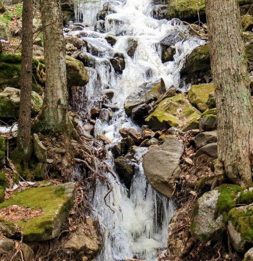 15. Frozen Waterfall