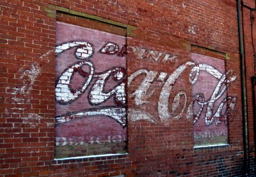 10. Old Coke Sign