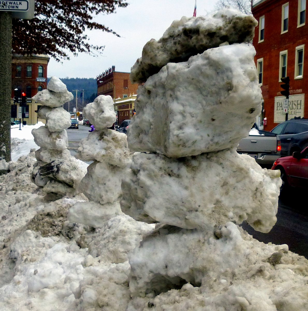 11. Ice Cairns