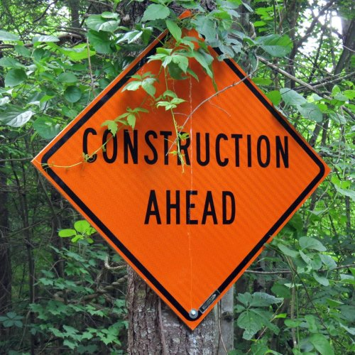 2. Construction Sign