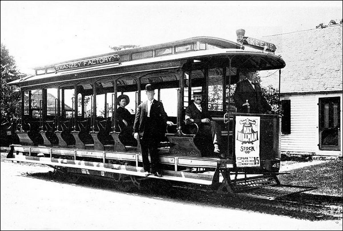 1. Keene Electric Railway Trolley