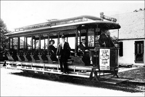 1. Keene Electric Railway Trolley