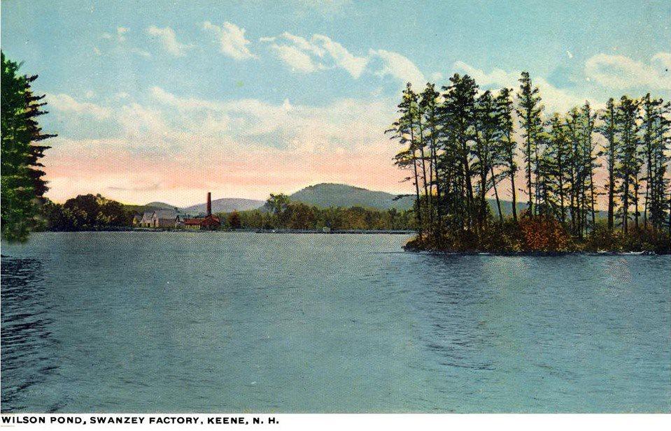 11. Wilson Pond Showing Sprague Mills