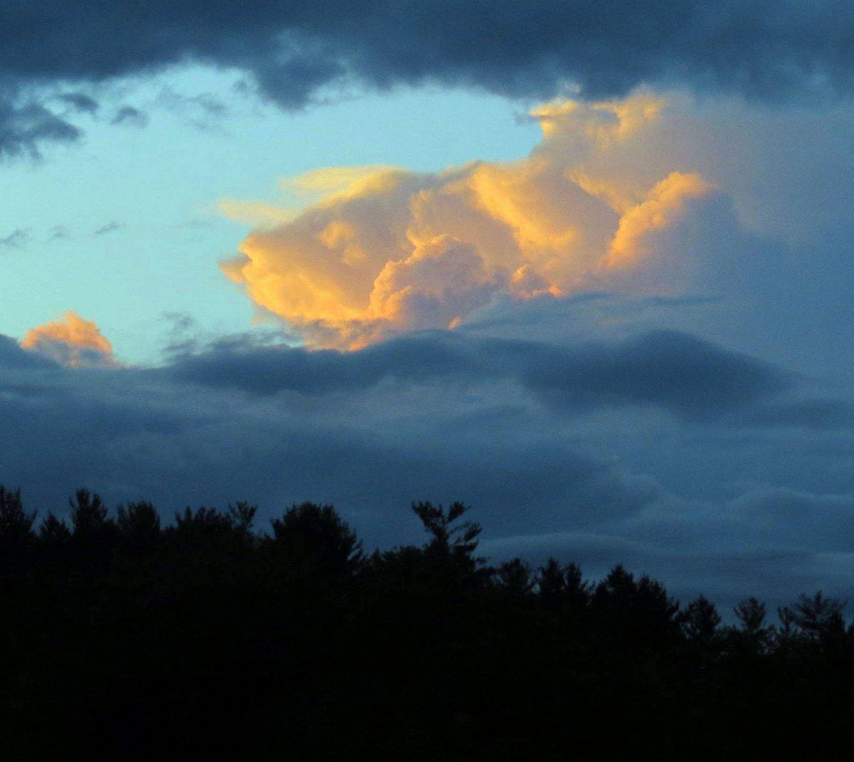 12. Sunlit Clouds