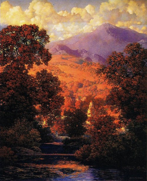 13. Sunlit Valley Maxfield Parrish