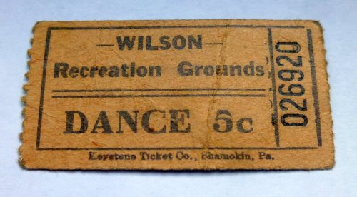 14. Dance Ticket