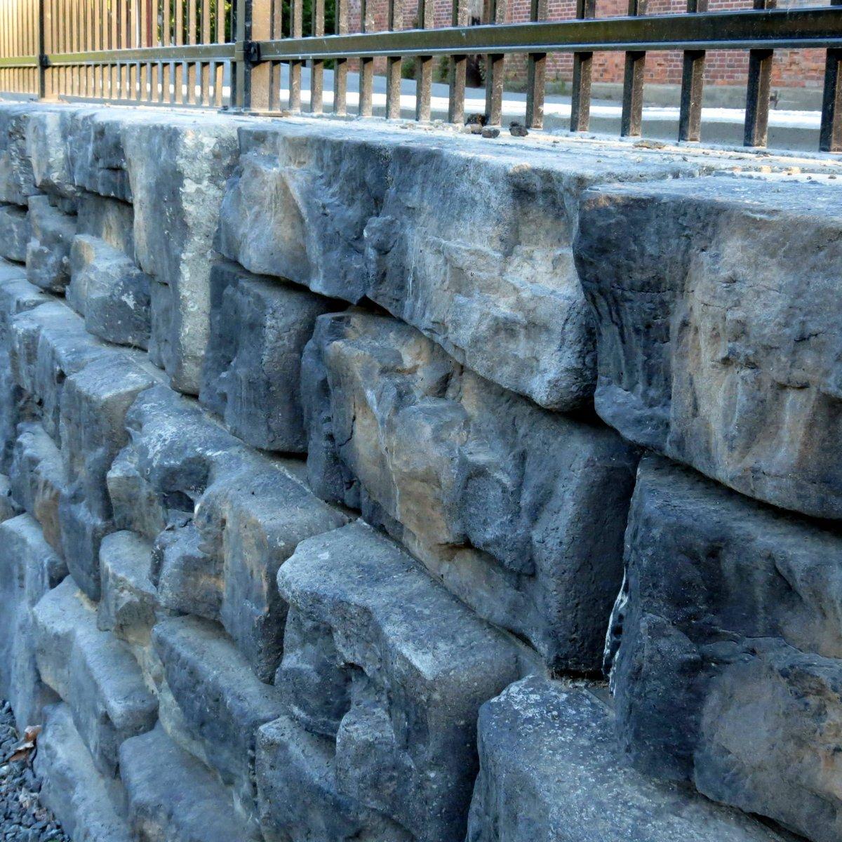 3. Fake Stone Wall