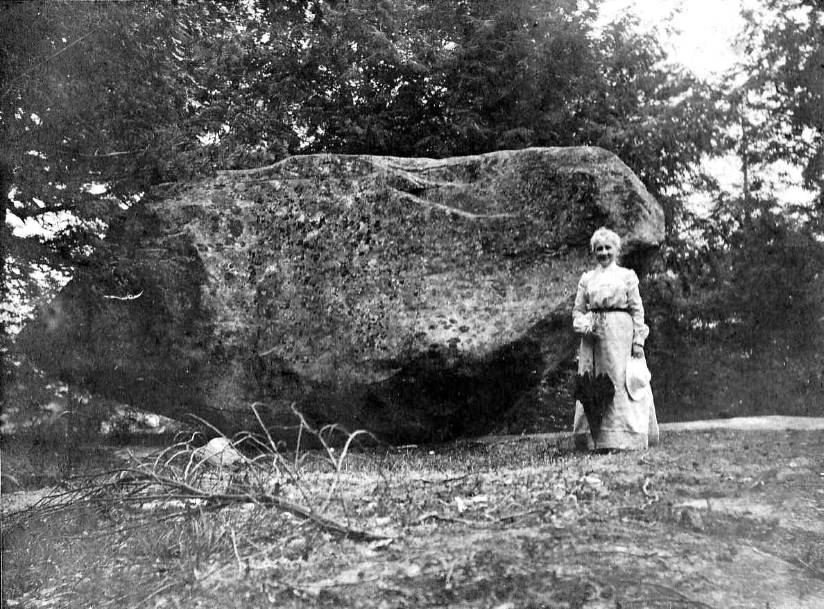 12. Old Photo of Tippin Rock