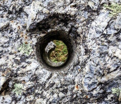 3. Hole in Boulder