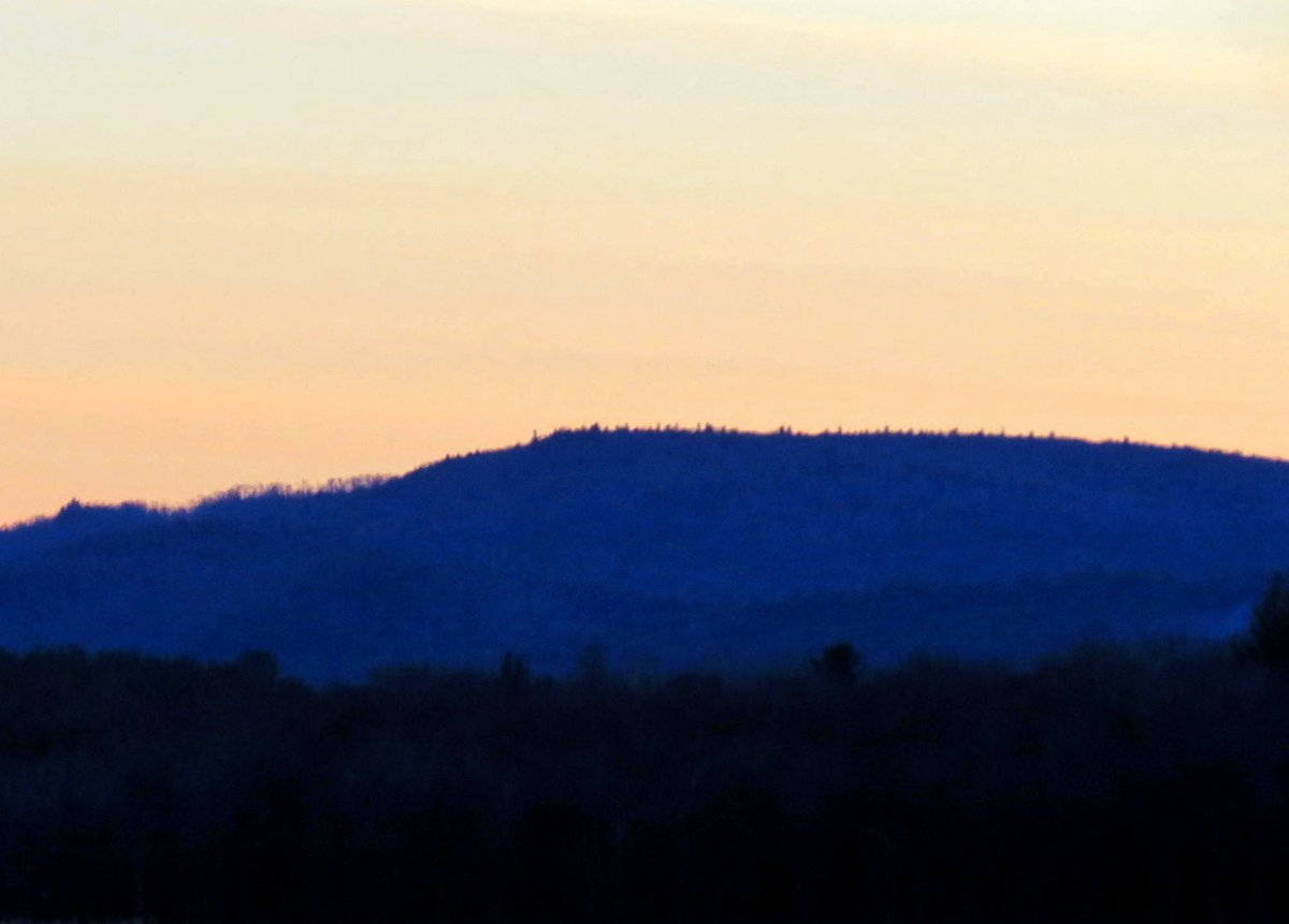 13. Hills at Sunset