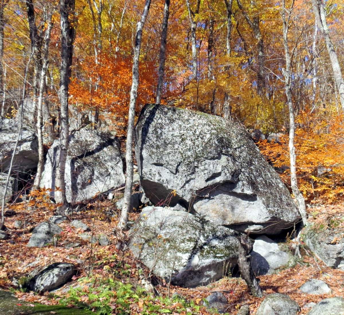 8. Boulder Fall
